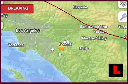 California Earthquake Today 2013 Strikes Orange County
