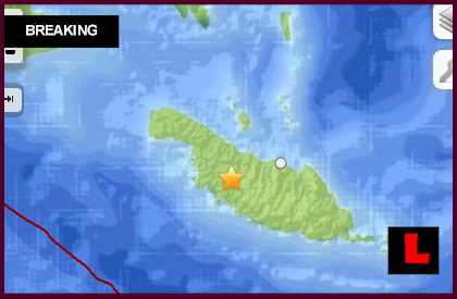 Solomon Islands Earthquake Today: 6.0 Strikes Kirakira