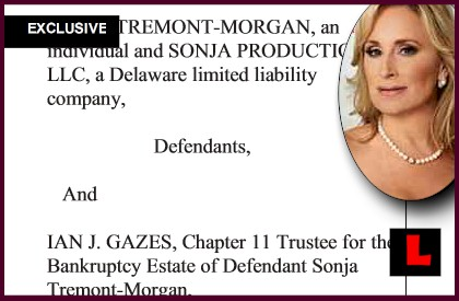 Sonja Morgan Bankruptcy Appeal Gets Dropped During RHONY: EXCLUSIVE