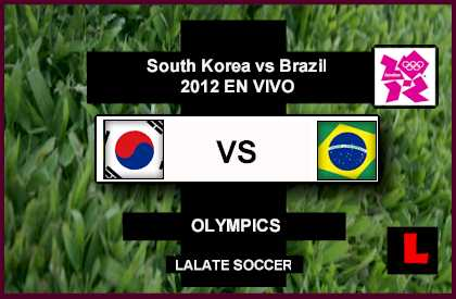 South Korea vs Brazil 2012: Neymar Drives Olympics Hope