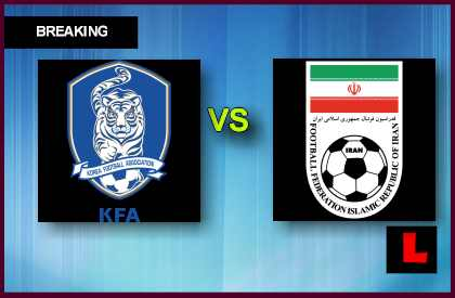 South Korea vs. Iran 2013 Delivers Soccer Qualifier en vivo live score results today