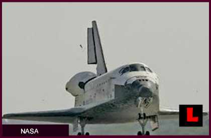 Space Shuttle Landing Today