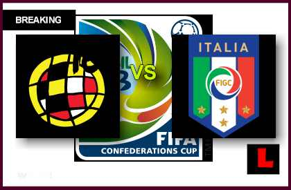 en vivo live score results Spain vs. Italy 2013 Battles in Confederations Cup Today