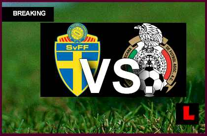 Sweden vs. Mexico 2013 Prompts Score Battle in Copa Mundial U17 en vivo live score results today