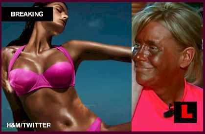 Isabeli Fontana H&M Tan Advertisement Prompts Tanning Bed Mom's Silence