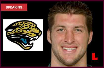 pics photos tebow jacksonville jaguars signing tim tebow will save. Cars Review. Best American Auto & Cars Review