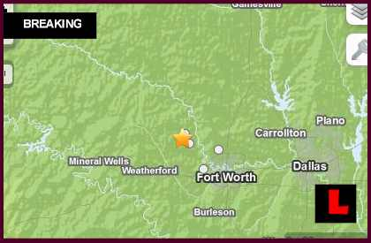 Texas Earthquake Today 2013 Strikes Near Dallas Fort Worth