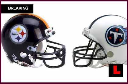 score what channel is the Steelers vs Titans 2012 game on tonight cable tv