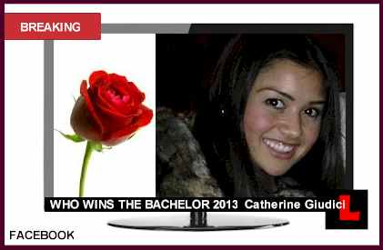 Bachelor Spoilers 2013: Winner Catherine Giudici who wins the bachelor