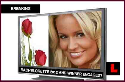 The Bachelorette 2012 Winner and Emily Maynard Are Engaged, Still Together
