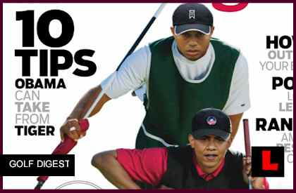 obama tiger woods golf digest cover