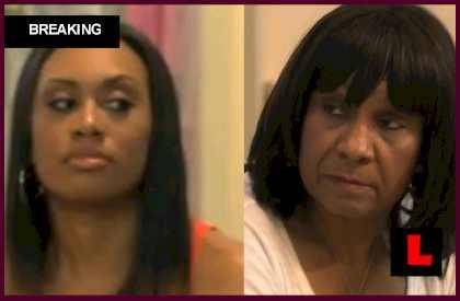 Todd Tucker Kandi Burruss Cheating with Carmen? Mama Joyce Fights Back