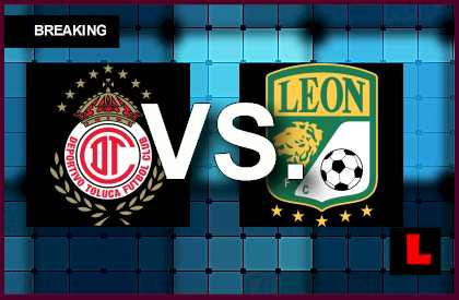 Toluca vs. León 2014 Score Prompts Liga MX Table Results	  en vivo live futbol soccer