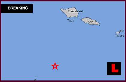 Tonga Earthquake Today 2013 Strikes Off the Coast