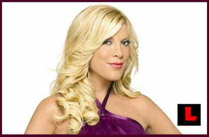 Tori Spelling Car Crash Destroys School's Wall