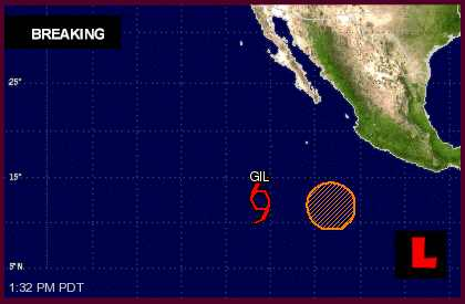 Tropical Storm Gil: Hurricane Center Updates Mexico Projected Path