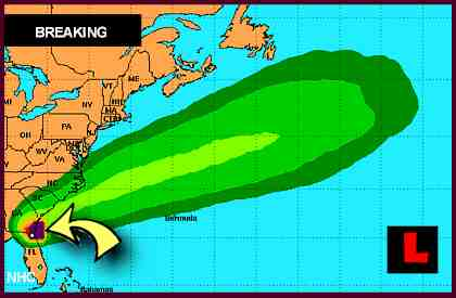 Tropical Storm Beryl Projected Path Promises Flooding, Strong Winds