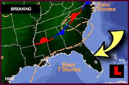 Tropical Storm Debby Forming Today, Warns Florida ...