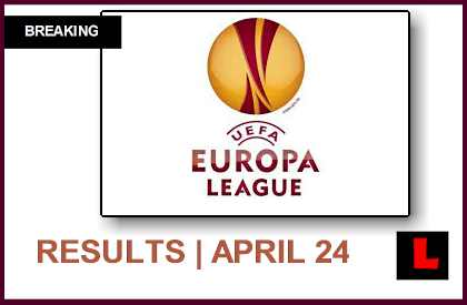 UEFA Europa League 2014 Results Today: UEL Prompts Semifinal Scores en vivo live today soccer futbol april 24, 2014