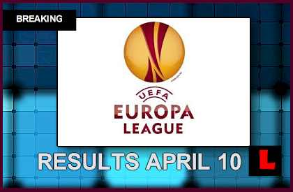 europa league scores today