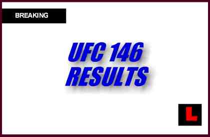 UFC 146 Winner Junior Dos Santos Tops Frank Mir Results Tonight