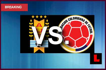 Uruguay vs. Colombia 2013 Prompts Copa Mundial Qualifier en vivo live score results today