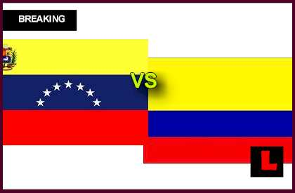 en vivo live score results today Venezuela vs. Colombia 2013 Battle for Soccer Ranking Today