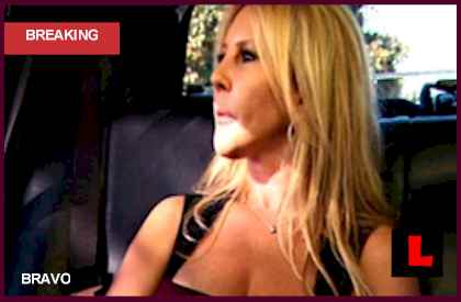 Vicki Gunvalson and Brooks Ayers Argue, Heather Dubrow Starts Glazing