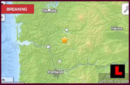 Washington Earthquake Today 2013 Strikes North of Portland