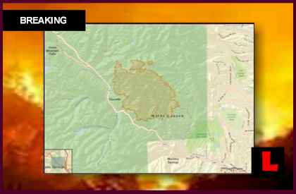 Waldo Canyon Fire Map Prompts New Evacuations in Colorado Wildfires