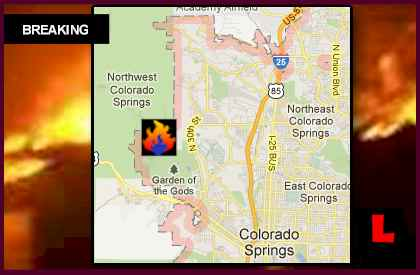 Waldo Canyon Fire Map Expands as Colorado Wildfires Spread