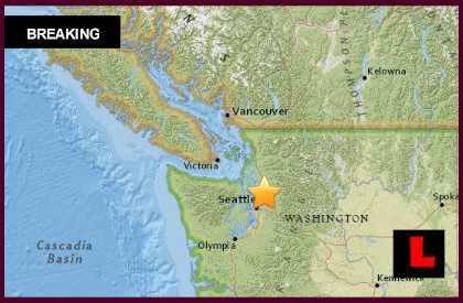 Washington Earthquake 2015 Today Strikes Redmond