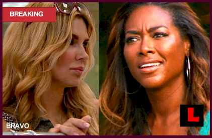Kenya Moore Evokes What Brandy Said about Adrienne Maloof