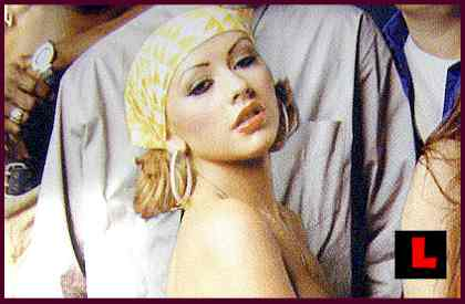 christina aguilera david lachapelle