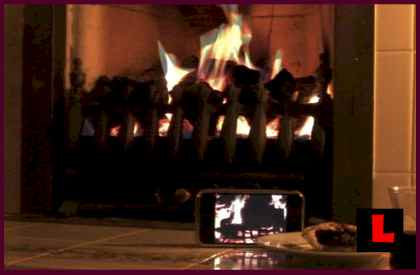 Yule Log Screensaver